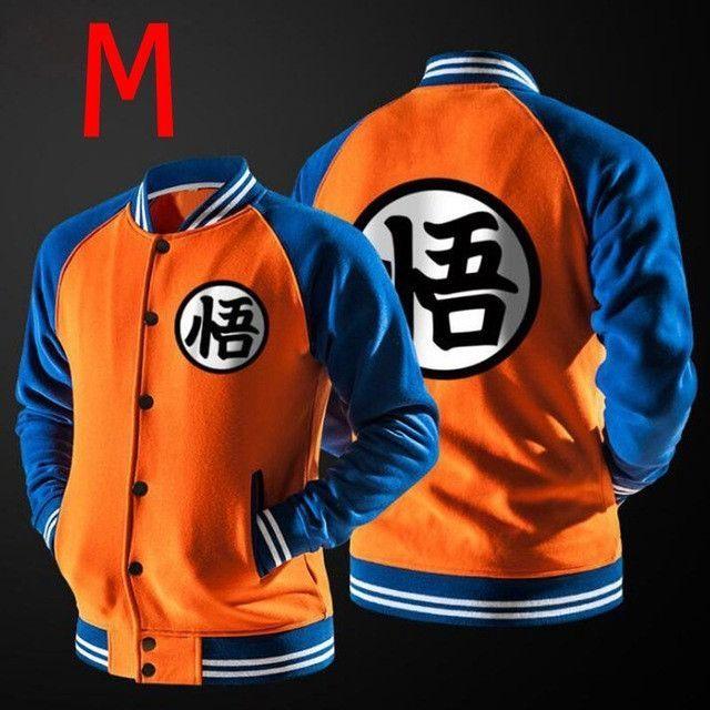 2016 HOT Autumn Winter Dragon Ball Z Goku Varsity Jacket Casual Sweatshirt Hoodie Coat Children Jacket Brand Baseball Jacket