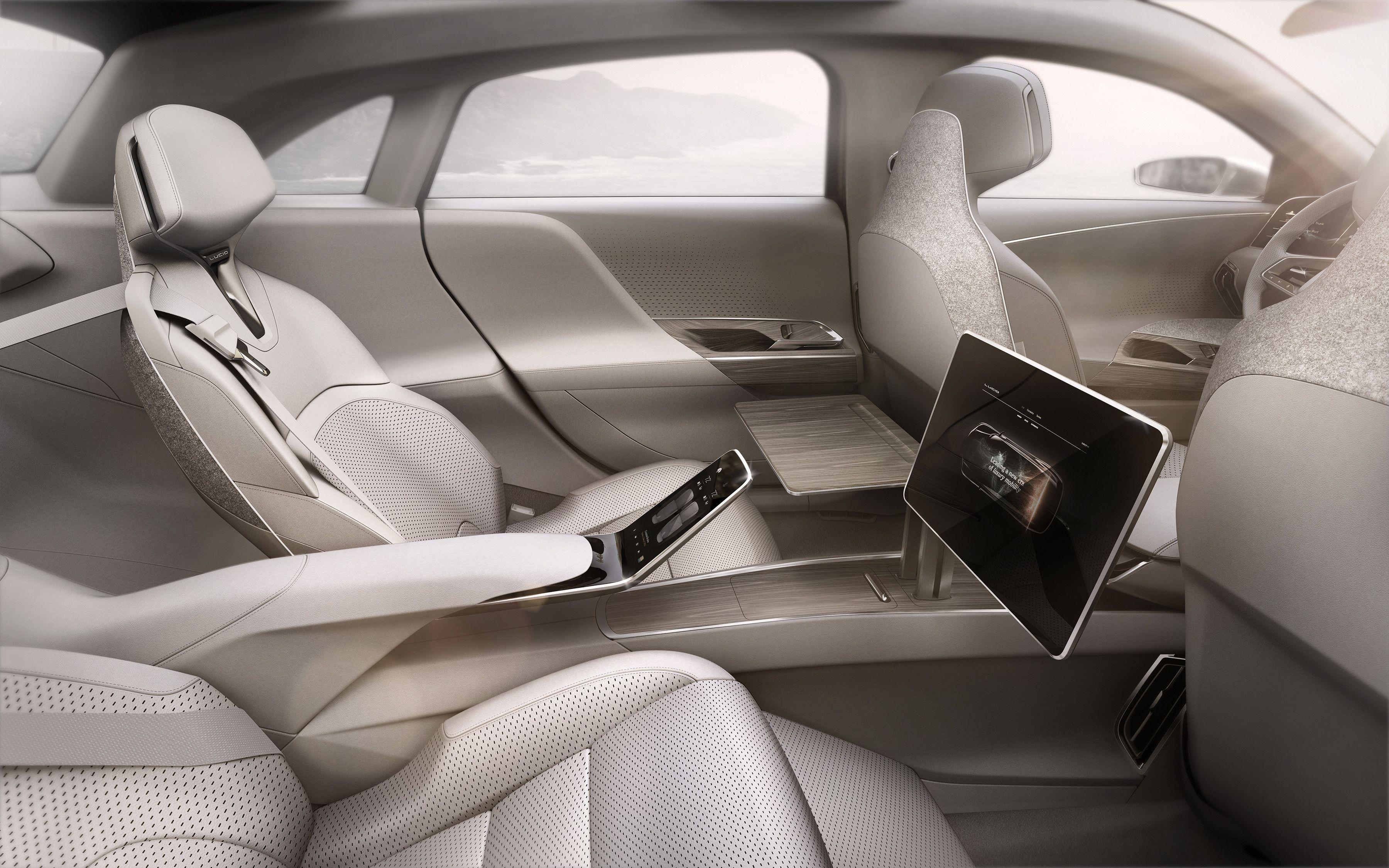 Lucid Motors Air Ev 160k Estimated Price With Images Car Interior Design Concept Car Design Luxury Cars
