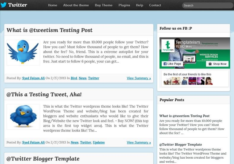 Twitters Timeline Blogger Template Web Graphics Theme Wp Free - Timeline blogger template