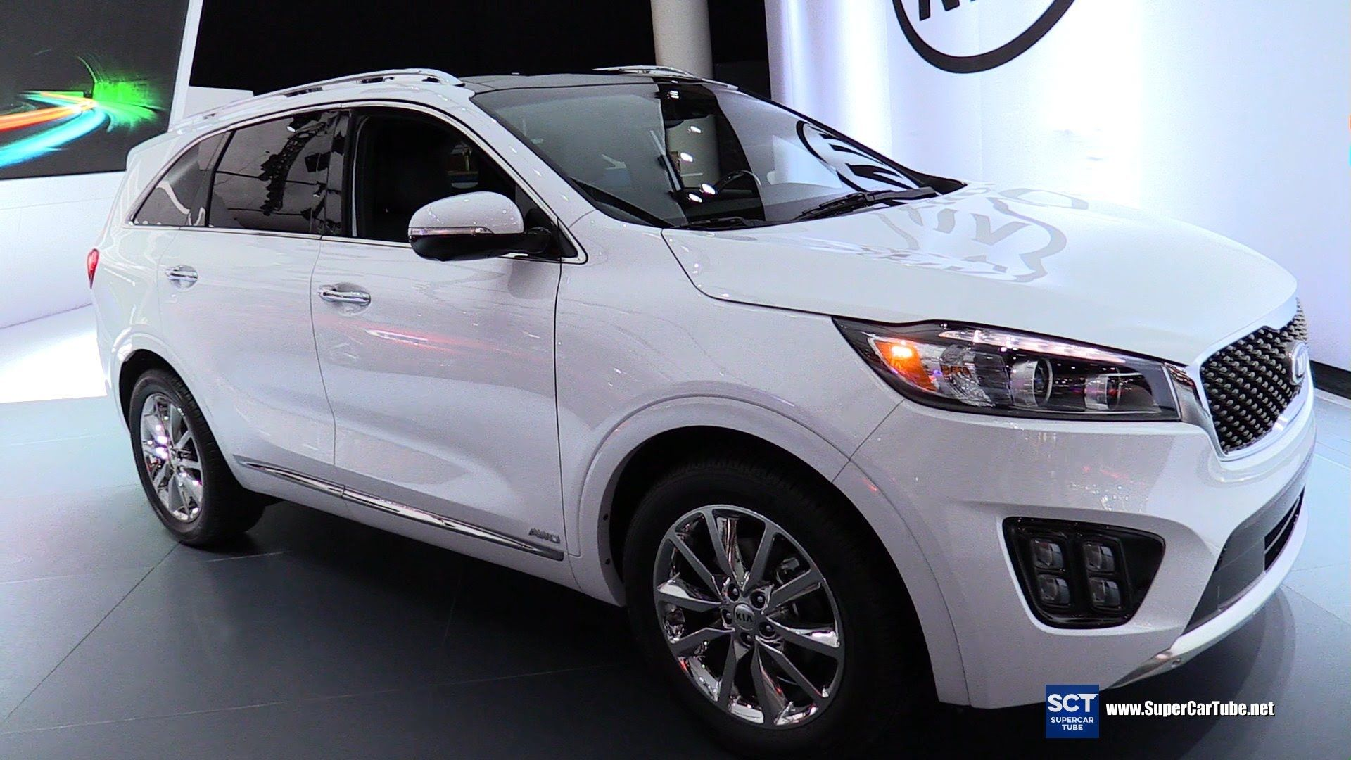 2016 Kia Sorento Sxl V6 Exterior And Interior Walkaround 2016