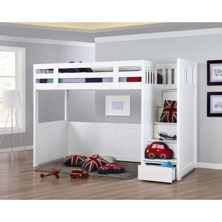 My Design Bunk Bed W Stair King Single 1100 Put Big Desk Underneath