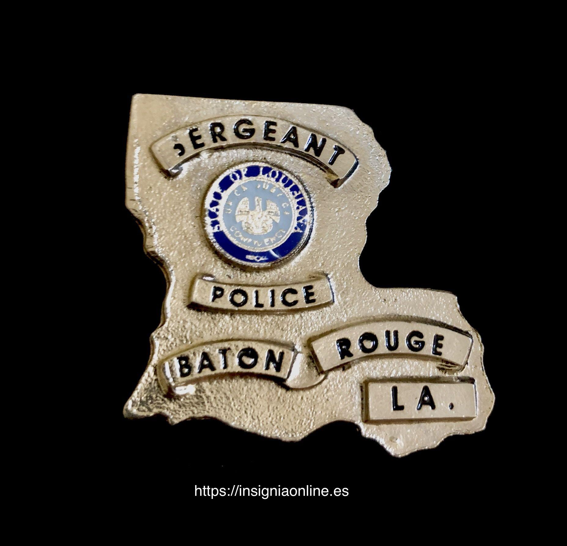 Baton Rouge Louisiana Police Badge Police Badge Badge Police