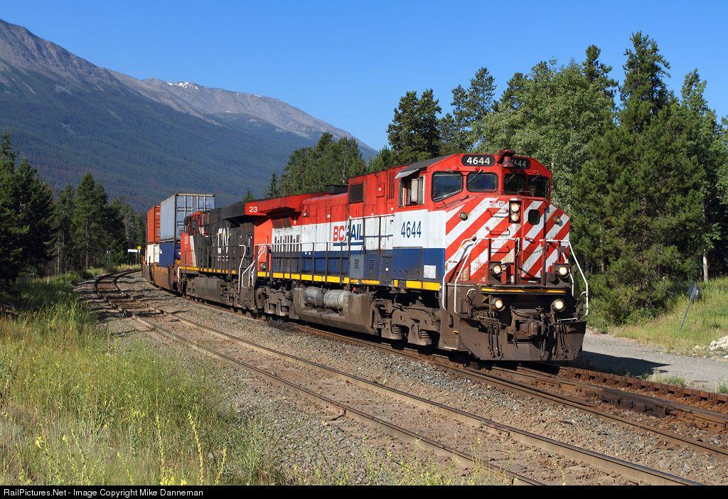 Photo BCOL 4644 British Columbia Railway