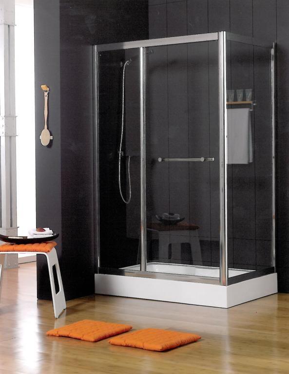 Mampara de ducha rectangular de 120x80 reversible - Ideas mamparas de ducha ...