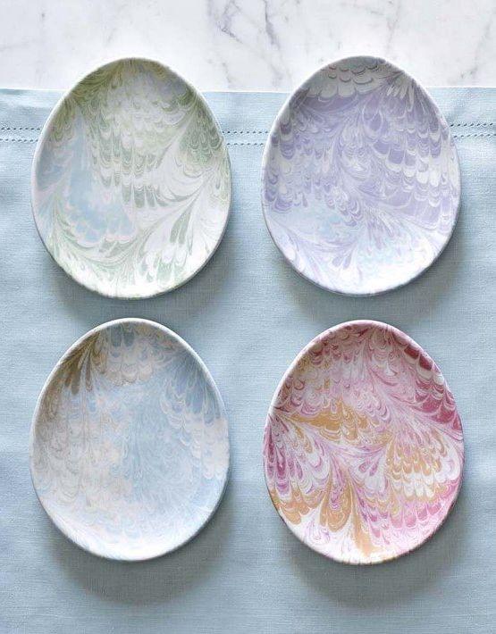 Florentine Egg Plates