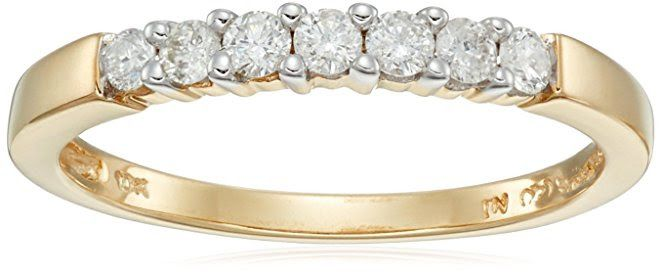 7-Stone Diamond Ring (1/4 cttw, H-I Color, I2-I3 Clarity)