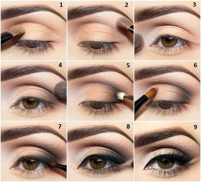 Simple Makeup Tutorial For Small Eyes Hair Pinterest Makeup