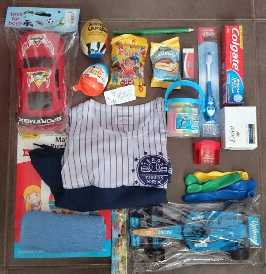 Gifts for a 7 year old boy | Fill It - Boys age 7-12 | Pinterest | Shoebox ideas, Operation ...