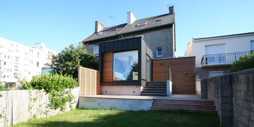 Extension \ rénovation du0027une maison individuelle à #Brest    www