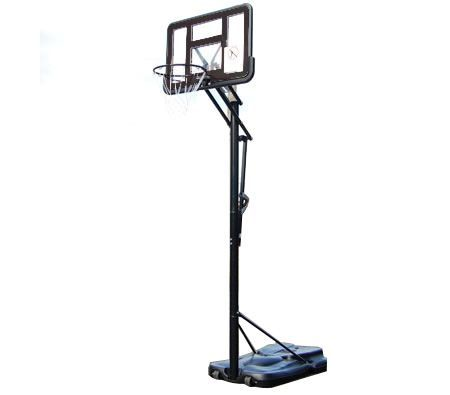 Portable Height Adjustable Basketball Ring With Spring