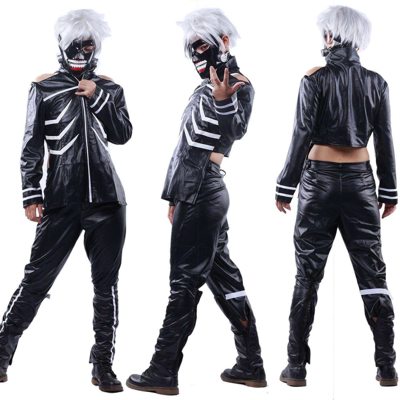 Hot Anime Tokyo Ghoul Manga Kanagi Ken Cosplay Costume Halloween ...
