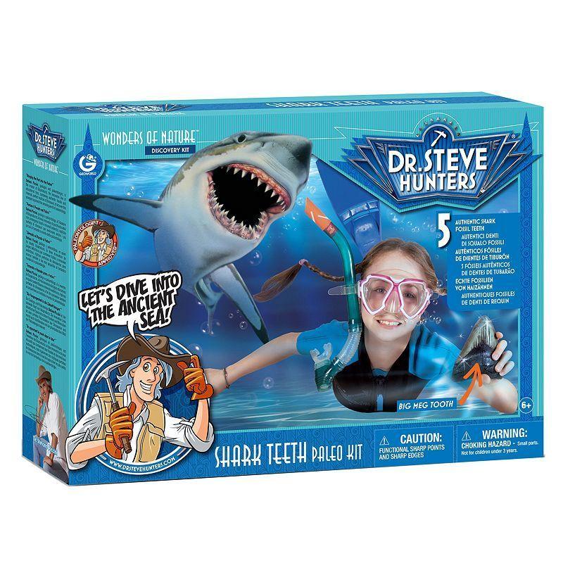 Geoworld Dr. Steve Hunters Shark Teeth Paleo Lab   Steve ...