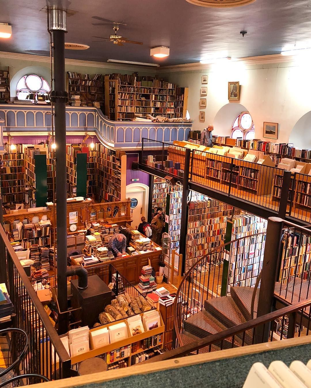 Moves To Inverness For Its Bookstore In An Old Church Regram Via Alex Mathews Old Church Bookstore Inverness
