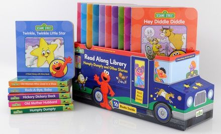 Elmo and other Sesame Street pals help get kids ready for bed with 16 well-known nursery rhymes    (64.00)  20.00