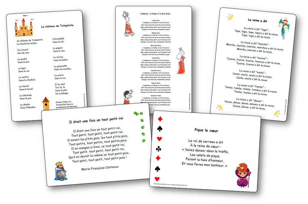 Chansons Comptines Et Poesies Sur Les Princesses Les Chateaux Forts Les Rois Et Les Reines Comptines Chansons Comptines Chateau