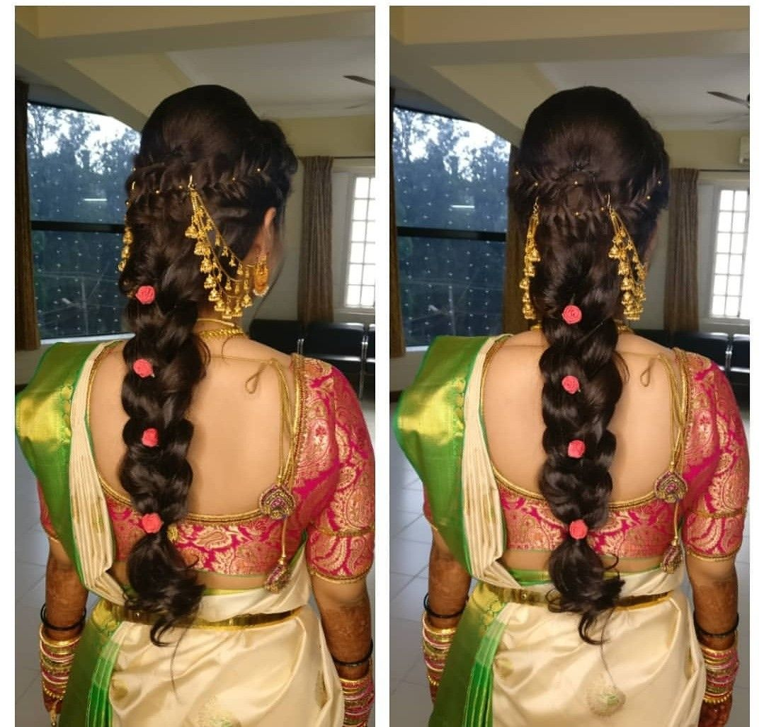 Hair Design Indian Bridal Hairstyles Bridal Hairdo Engagement Hairstyles