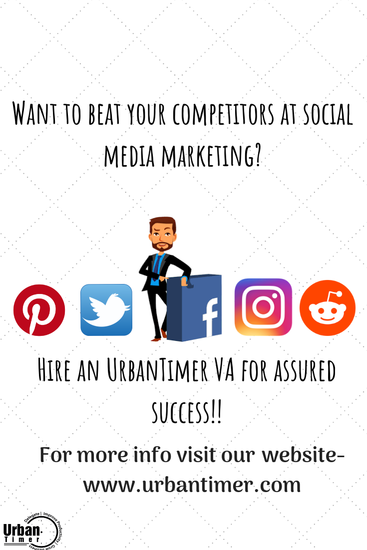 We at UrbanTimer are giving away 5 hours of free Virtual Assistance