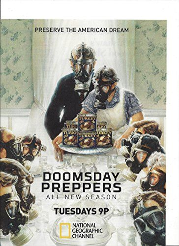 Print Ad For Doomsday Preppers Tv Promo Print Ad Http
