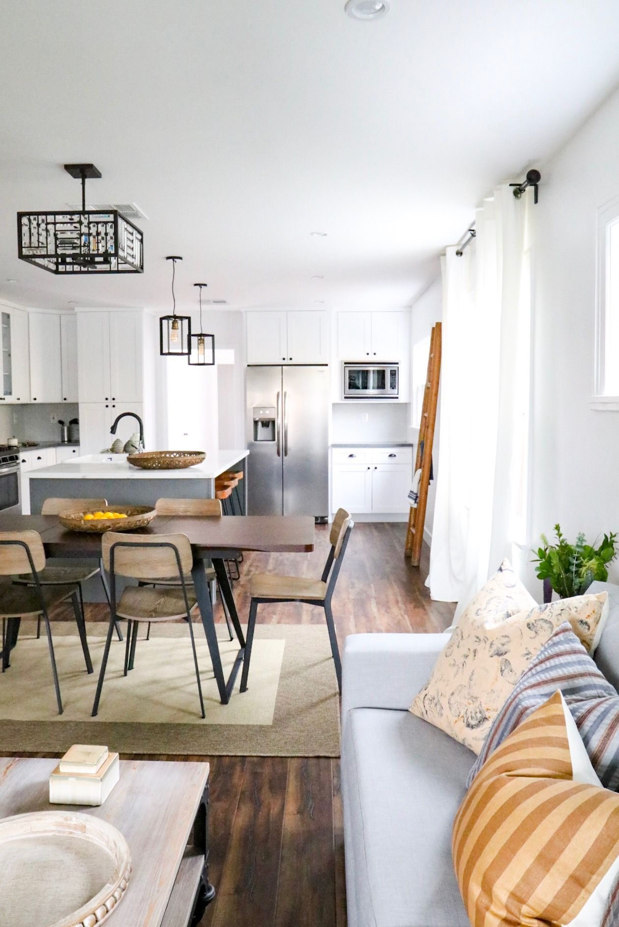 Adding boho chic and modern farmhouse looks to your decor