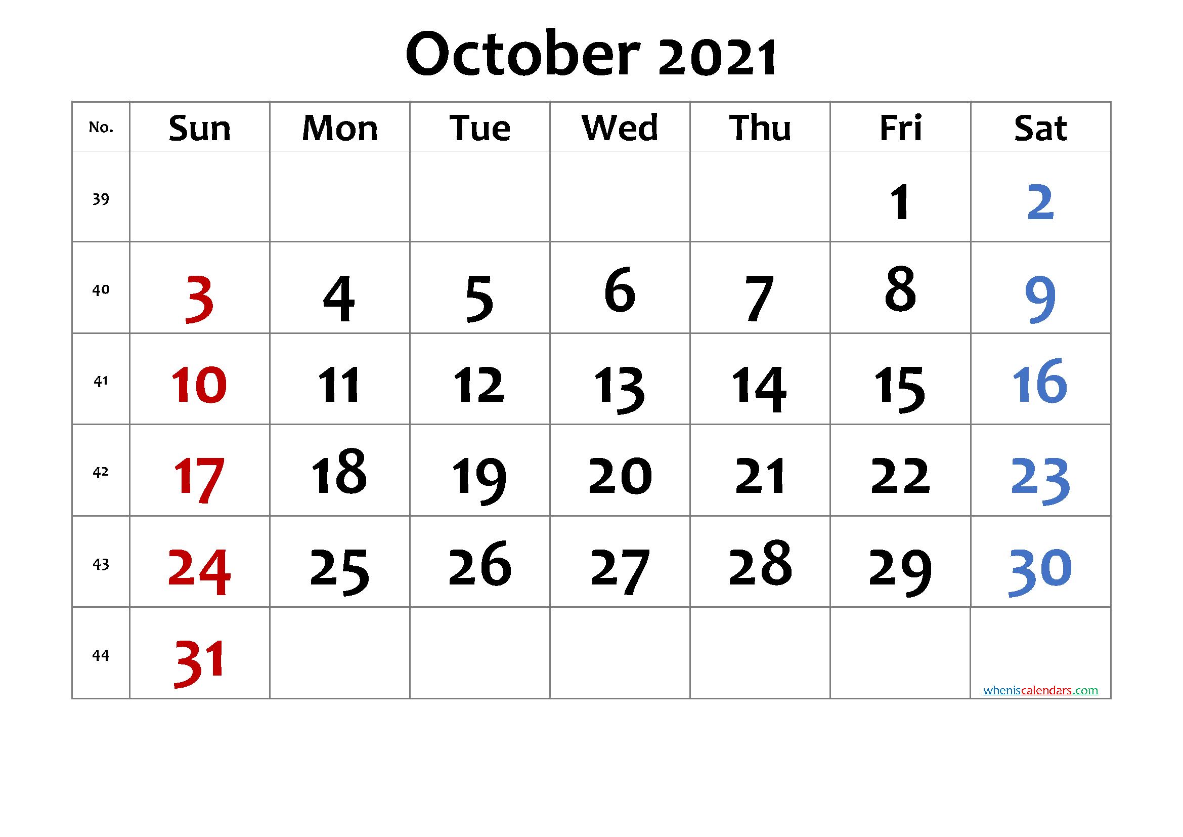 Free Printable October 2021 Calendar Premium In 2020 Calendar Printables Free Printable Calendar Printable Calendar July