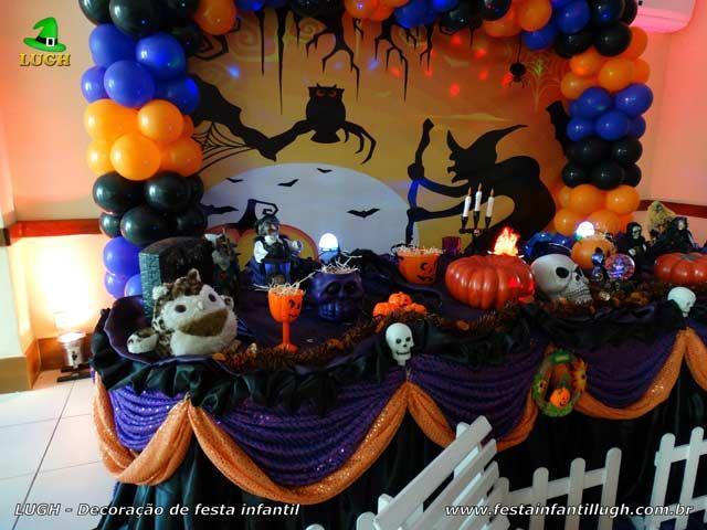 Decoracao De Festa Infantil Tema Halloween.Decoracao Festa De Aniversario Halloween Halloween Decoracao De