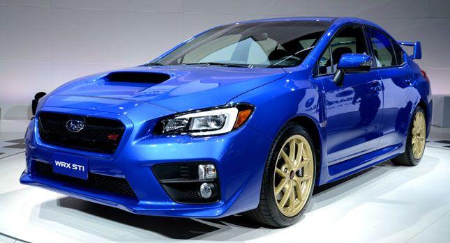New 2015 Subaru WRX from $26,295, STI from $34,495, STI Launch ...