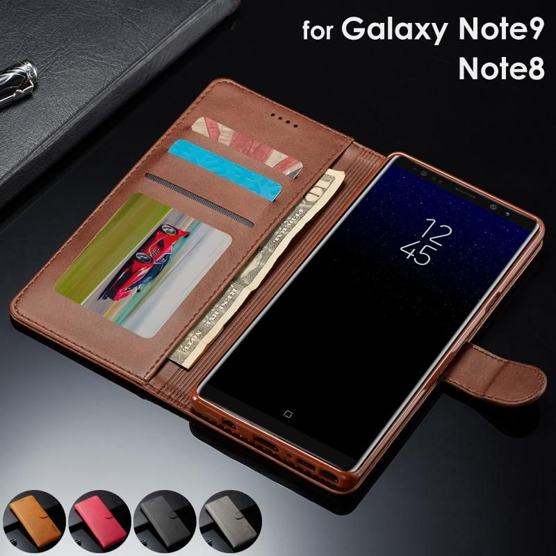 Luxury Wallet Flip Case for Samsung Galaxy Note 9 - Magnetic Wallet Case for Galaxy Note 8/9  #sun #...