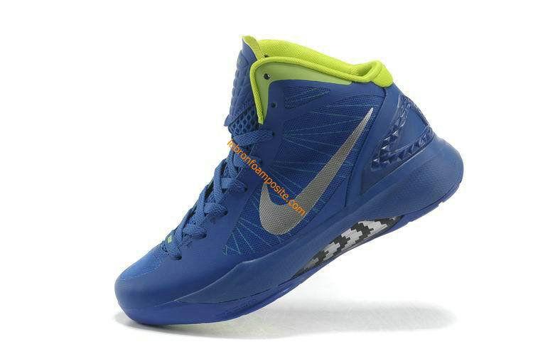 Cute Womens basketball shoes Hyperdunk 2011 Treasure Blue Volt Ice 454138 400