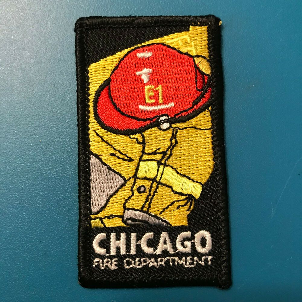 Chicago Fire Department Paramedic EMS Patch Illinois IL v2