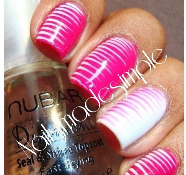 Stripe design nails nails pinterest pretty nails stripe design nails prinsesfo Gallery