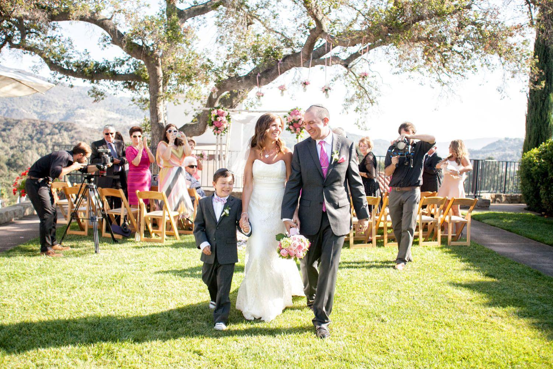 Mikaellabridal pink ojai wedding kari and tom mikaella bridal