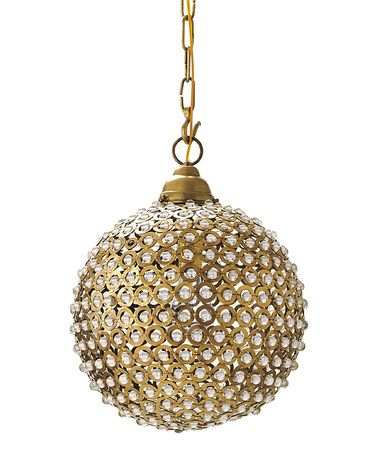 Look what I found on #zulily! Marmont Pendant Lamp by Serena & Lily #zulilyfinds
