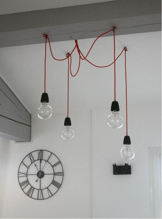 Suspension bo concept eclairage pinterest luminaires for Ampoule suspension luminaire