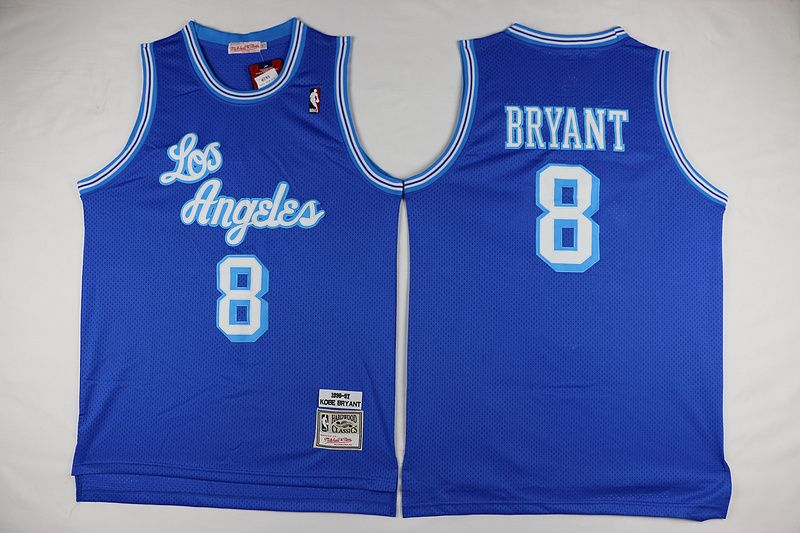 8 Kobe Bryant Jersey Los Angeles Lakers Blue Products All The Jerseys Have The Logo And Have The Best Quality Washing On Kobe Bryant Kobe Kobe Bryant Nba