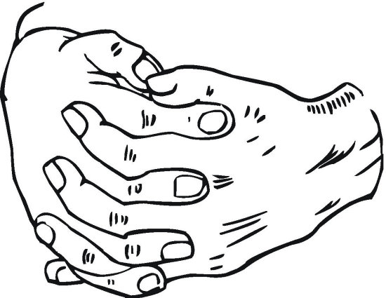 Kleurplaat Handen En Voeten 12 Handen Pinterest Hands Journal