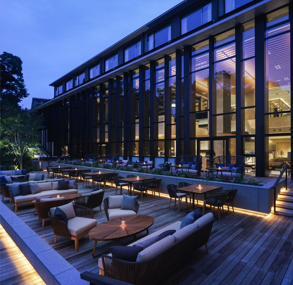 Gallery of brasserie restaurant kokaistudios 18 in for Design hotel kyoto