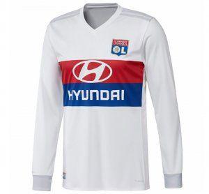 Olympique Lyon 2017-18 Season LS Home Les Gones Jersey Shirt [K502]