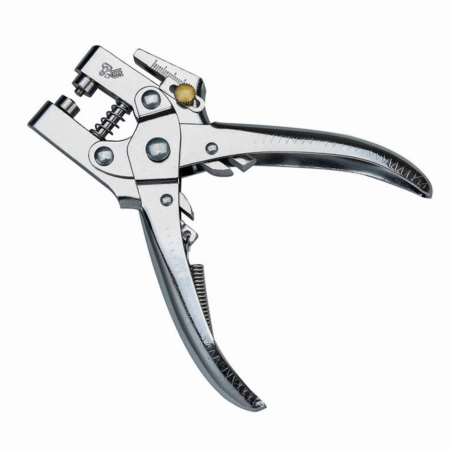 Evz Tools 2 In 1 Eyelet Hole Punch Amp Press Plier Metal