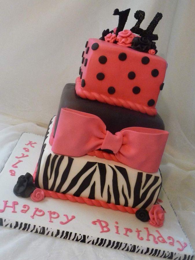 Good Cake For Teenager Birthday Fun Pinterest Cake Birthday