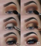 Maquillaje de ojos marrones. Brown Eye Makeup Tutorial paso a paso … – Cómo …