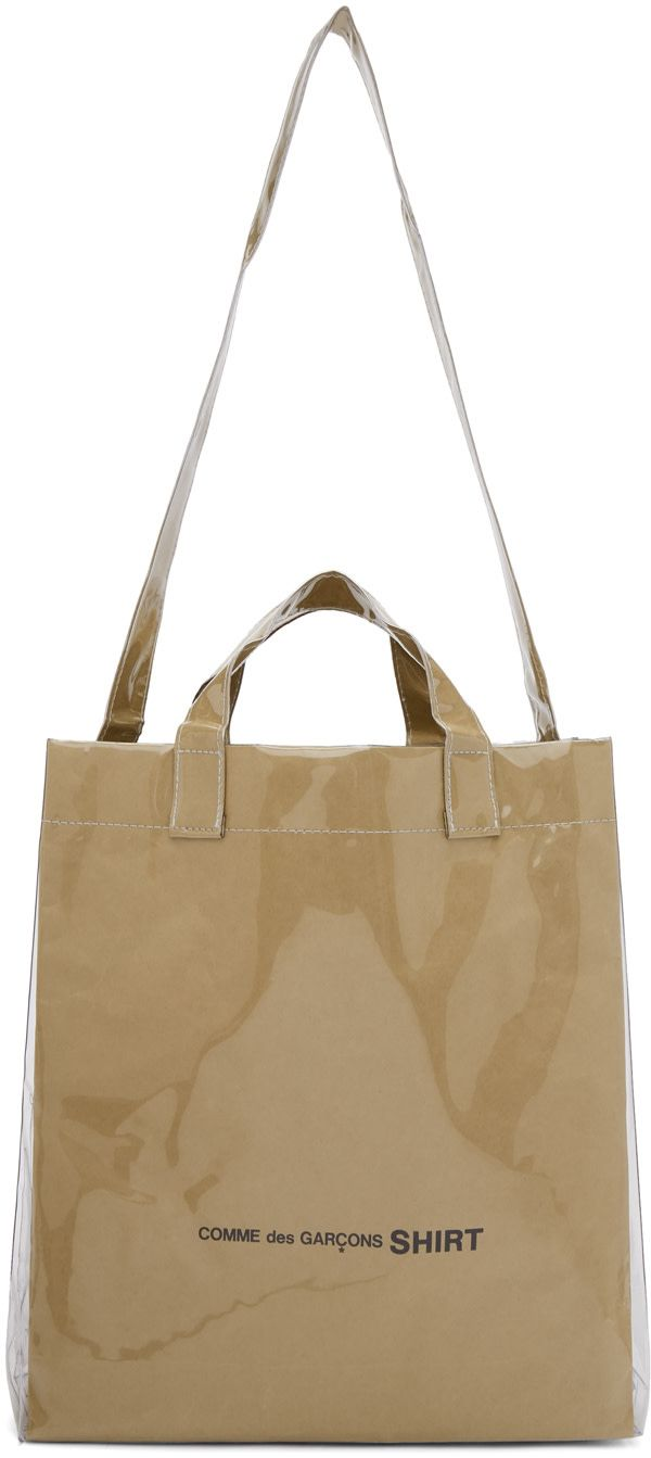 ruched tote - White Comme Des Garçons Popular For Sale Original Free Shipping Latest k4aCj