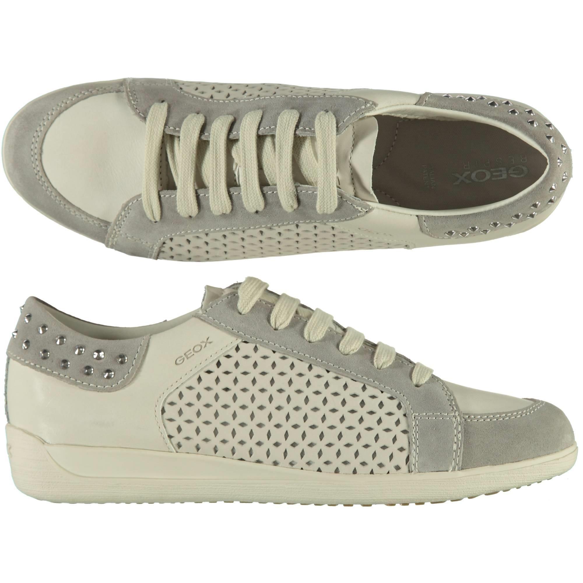 a34f22a6c93eb7 Geox sneakers con borchie e lavorazione laser - € 89