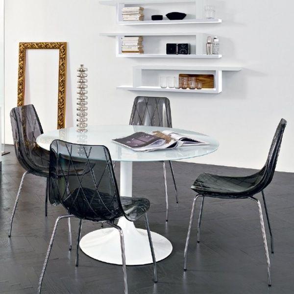 Chaises Design En Plexi Lynea Domitalia Lot X2 1 Mobilier De Salon Chaise Cuisine Decoration Maison