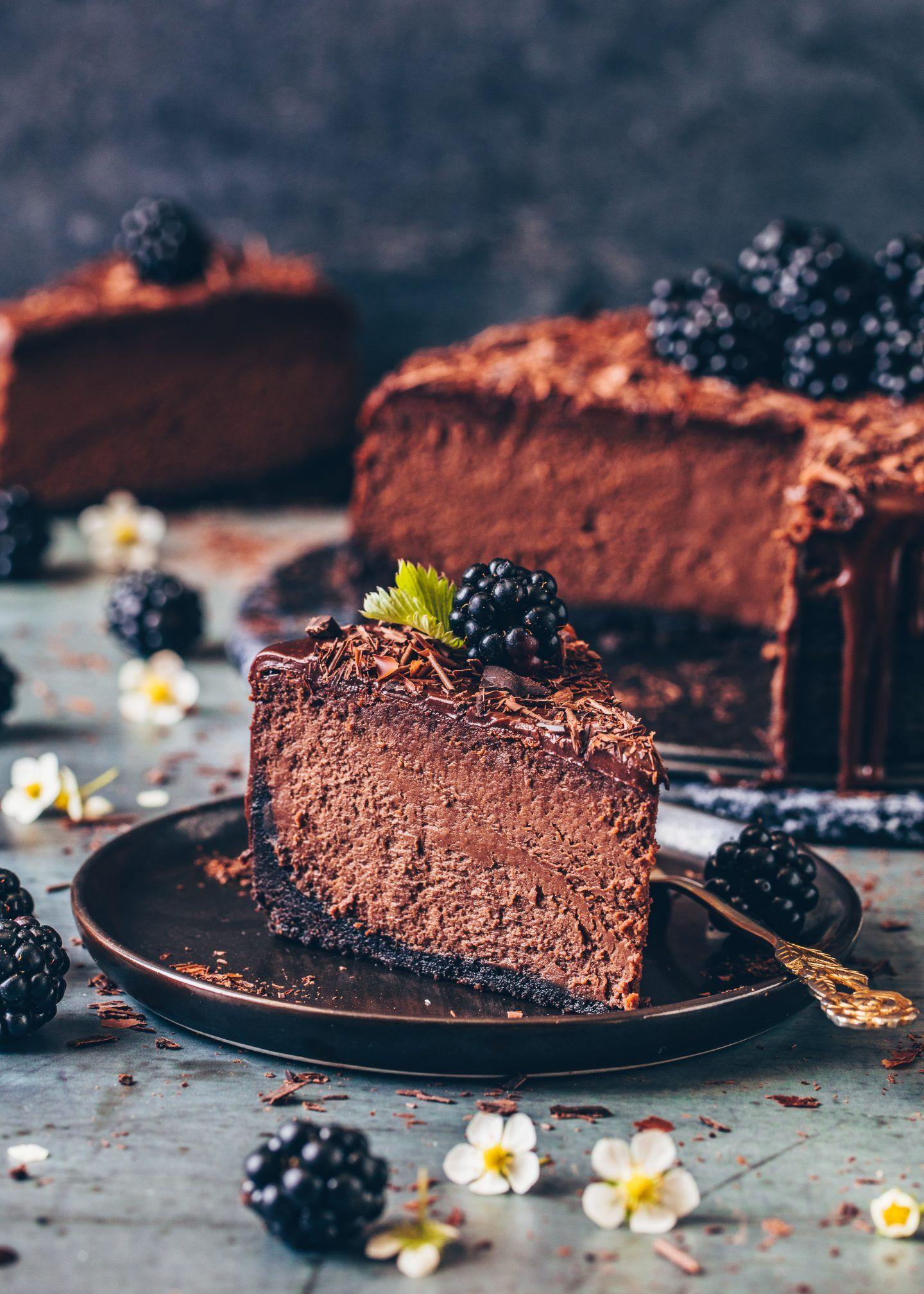 Photo of Chocolate Cheesecake Recipe – Vegan – Bianca Zapatka | Recipes