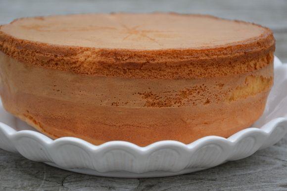 biscuitdeeg taart maken