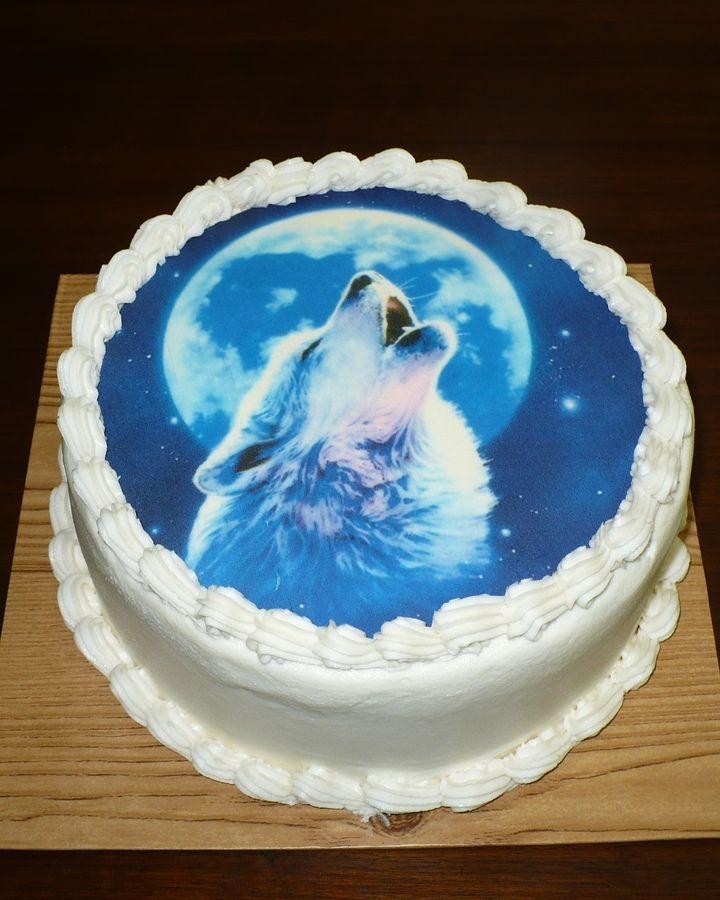 Wolf Birthday Cake Cakepins Party Ideas Pinterest Birthday