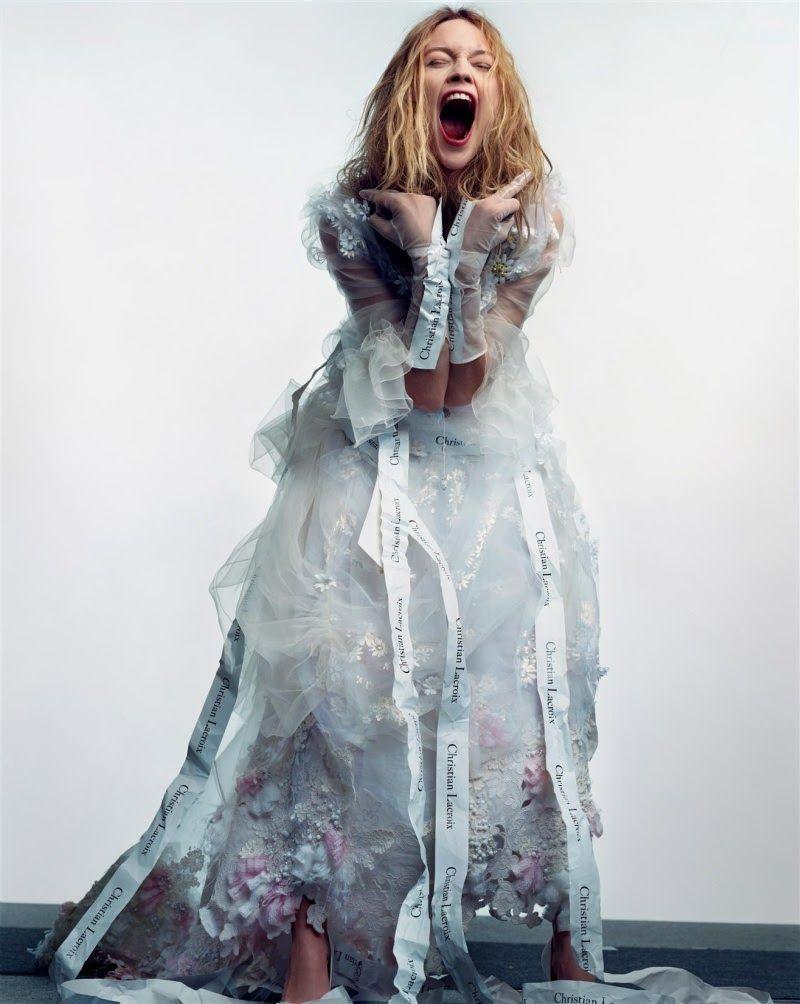 Vogue Paris, April 2006 Model: Sasha Pivovarova