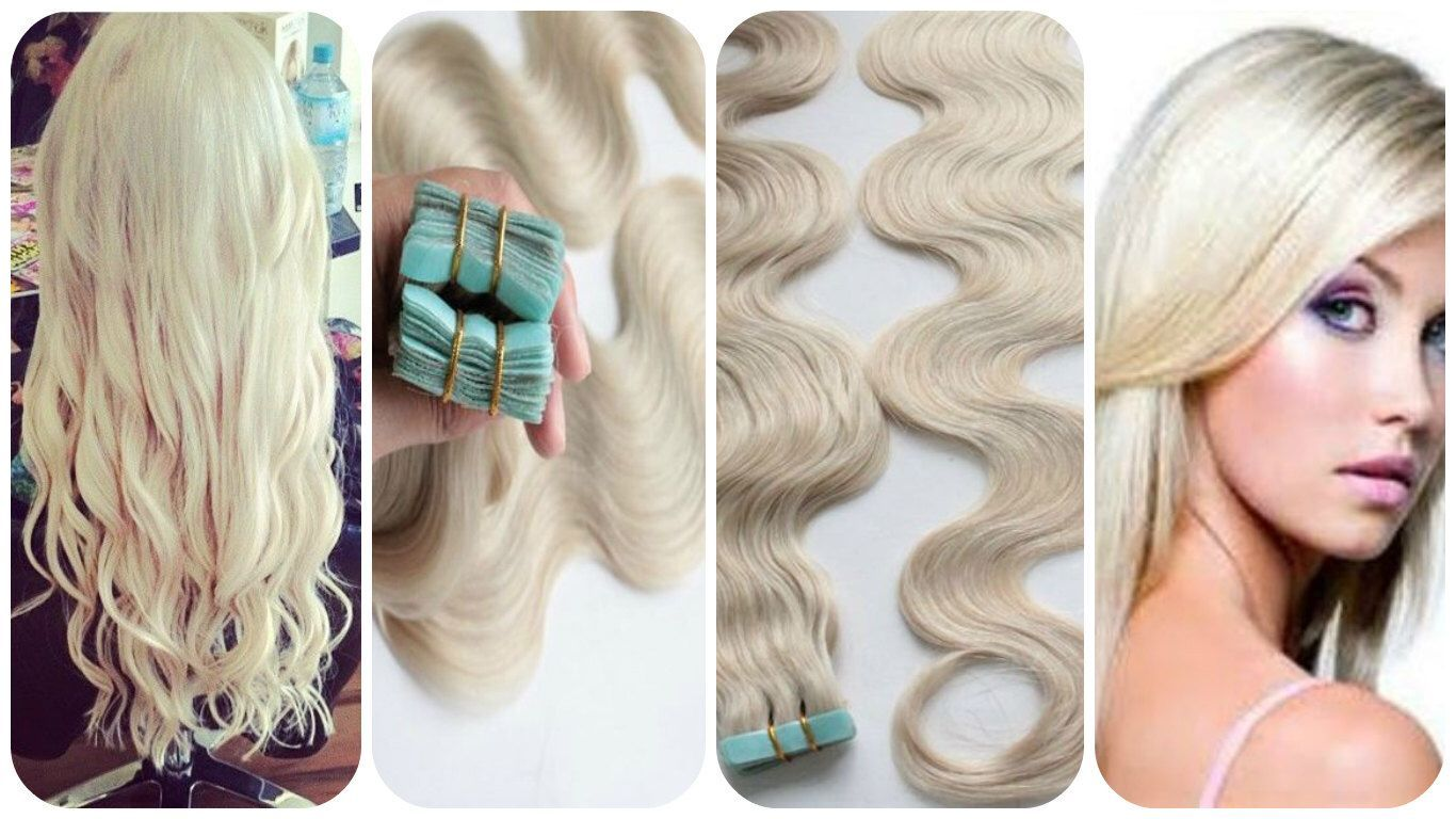 Custom Made To Order 20pcset 60 Platinum Blonde Best Quality 8a