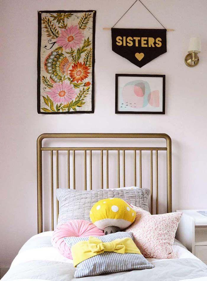 Inspirations et idées déco autour du rose pour chambres d\u0027adultes