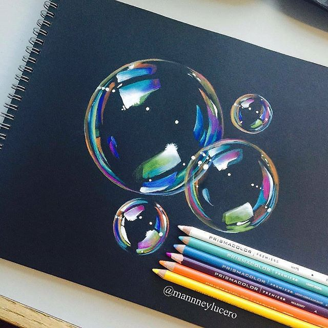 Rachel Rachelldesigns Instagram Photos And Videos Color Pencil Drawing Art Drawings Beautiful Bubble Drawing